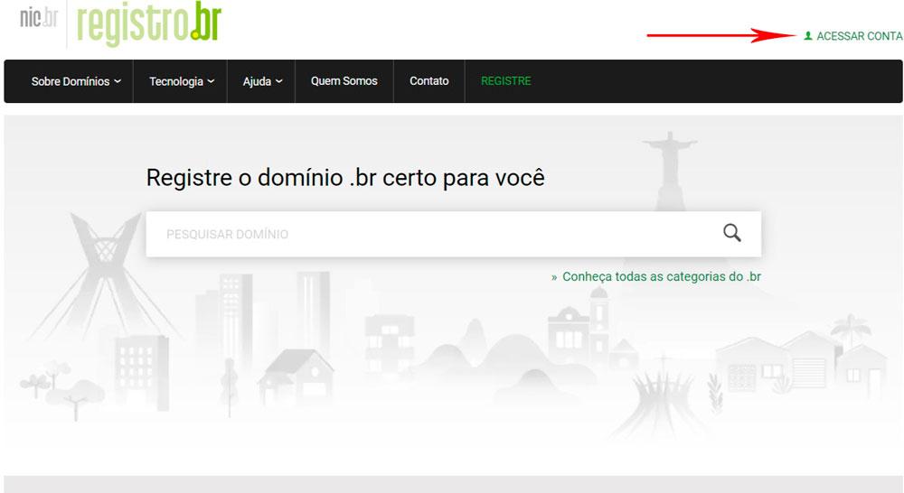 Passo a Passo para alterar o ID Técnico de seu domínio no Registro.br